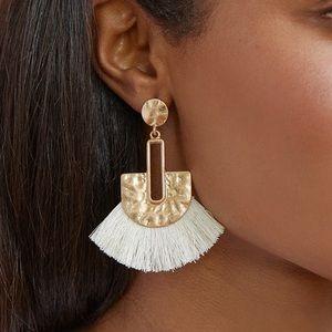 18K Gold Plated Tassel Earrings